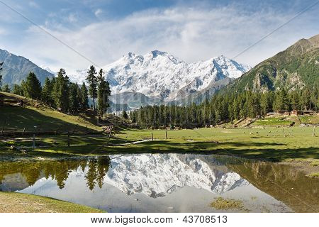 Nanga Parbat Reflection, Himalaya, Pakistan