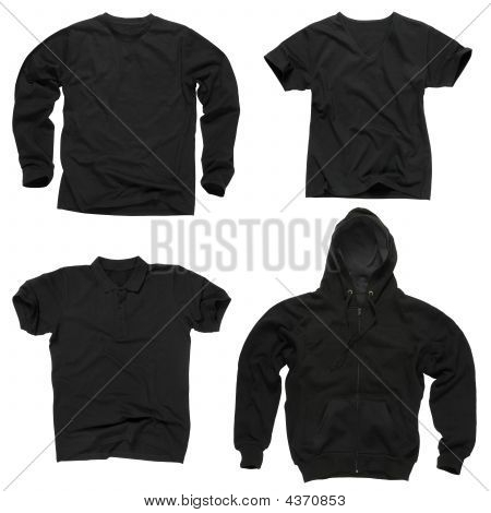 Blank Black Clothing