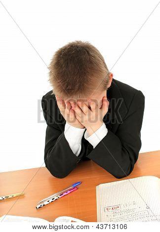 Sad Schoolboy