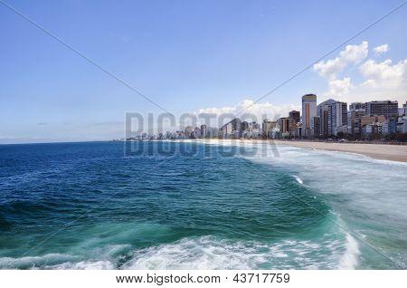 Coastline Near Resort City