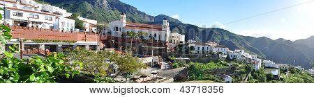 Tejeda village on Gran Canaria, Spain