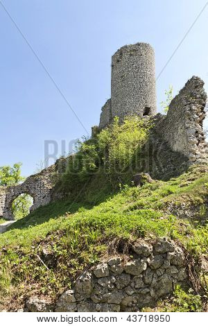 Gothic Rocky Castles In Poland.
