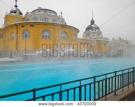 Szechenyi spa bath, Budapest