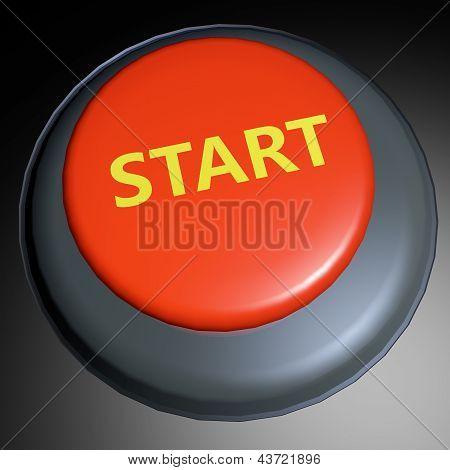 Start 3D Button