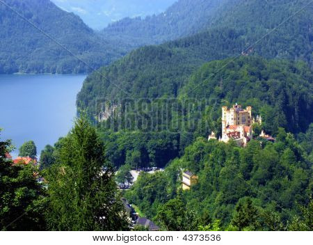 Castle Hohenschwangau. Bavaria, Germany