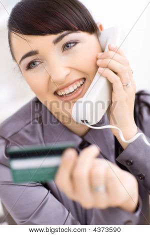 Young Women Shopping Online