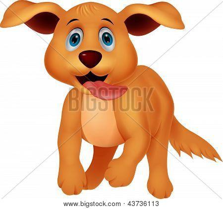 Vectores y fotos en stock de Dibujos animados de lindo perro ...