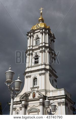Christian Orthodox Church Bell Tower