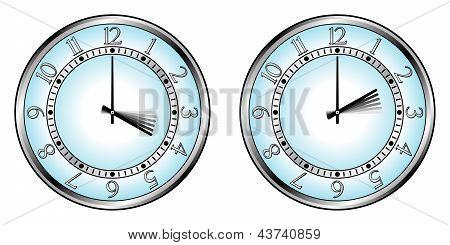 Clock To Daylight Saving Time