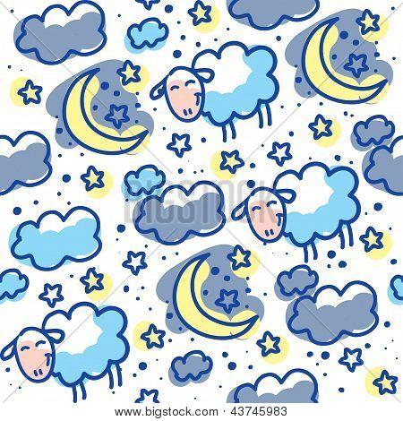 sheeps pattern