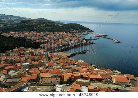 Village, Mediterranean Sea