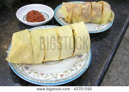 Nyonya Popiah Without Chili Sauce Closeup