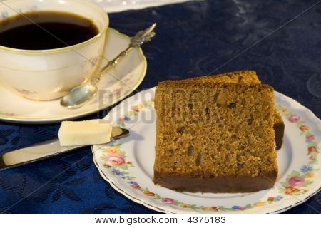Coffee And Cake Snack