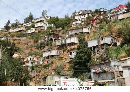 Poor Distict Valparaiso Chile