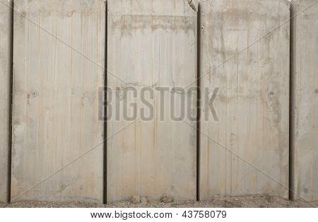 Army T-Wall Iraq Wallpaper Background