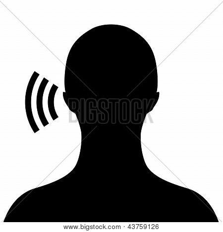Vector listen symbol