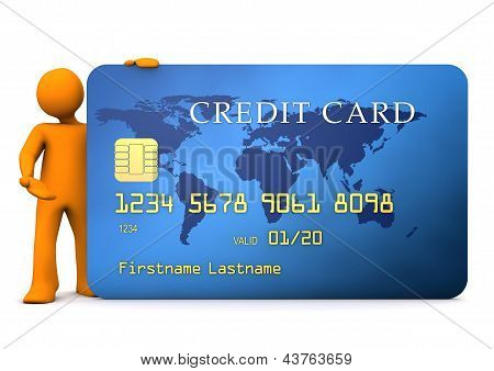 Manikin Credit Card