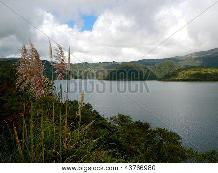 Mountain Lake in Ecuador
