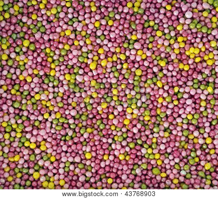 Pretty Pastel Sprinkles, Cake Sugar Ball Decorations - Background