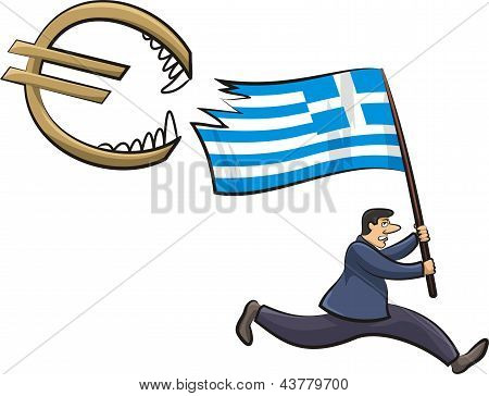 greek crisis - threat to the euro zone