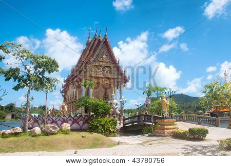 Temple of Wat Plai Laem