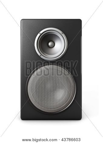 Black Speaker Box