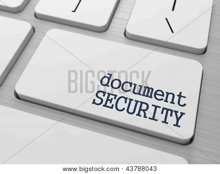 Document Security Concept.