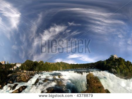 Rhine Falls Near Schaffhausen