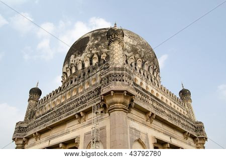 Dome Detail, Qutb Shahi Tombs