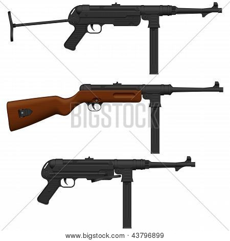 Machine Pistol