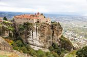 Agios Stephanos Monastery At Meteora Monasteries, Greece