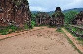 picture of champa  - UNESCO World Heritage Site My Son Sanctuary - JPG