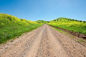 pic of golan-heights  - Dirt Road on the Golan Heights Israel - JPG
