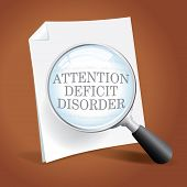 stock photo of aspergers  - Taking a closer look at ADHD Attention Deficit Disorder - JPG