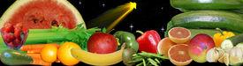 stock photo of vegetable food fruit  - Banner  - JPG