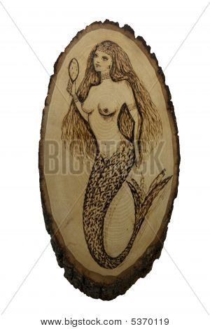 Mermaid On Basswood