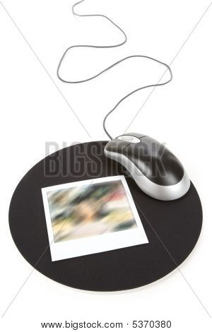 Photo And Computer Mouse