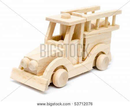 Firetruck Wooden Toy