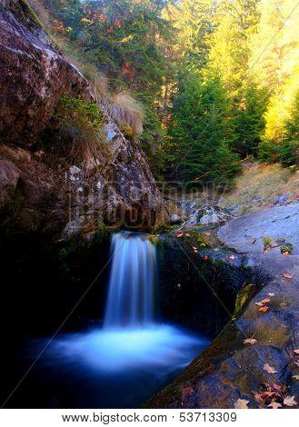 Vertical Waterfall