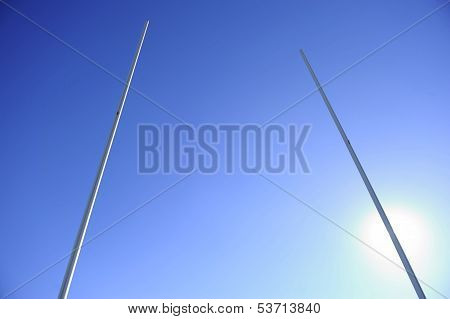 Rugby Goalpost Backlight