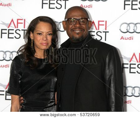 LOS ANGELES - NOV 9:  Keisha Whitaker, Forest Whitaker at the AFI FEST 2013 Presented By Audi -