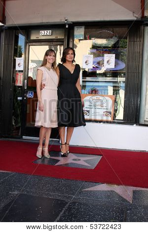 LOS ANGELES - NOV 8:  Hilary Swank, Mariska Hargitay at the Mariska Hargitay Hollywood Walk of Fame Star Ceremony at Hollywood Blvd on November 8, 2013 in Los Angeles, CA\
