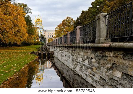 Catherine Park In Pushkin (former Tsarskoe Selo),st.petersburg, Russia