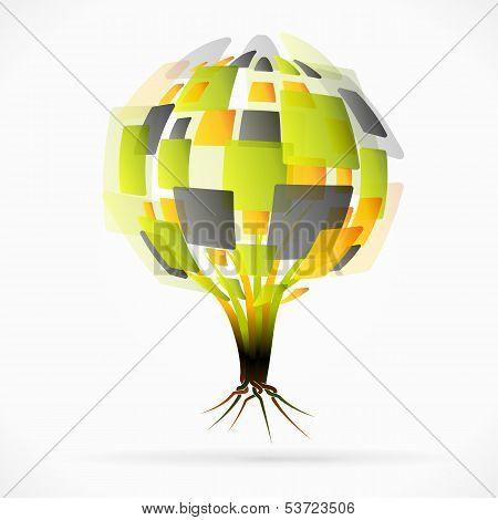 Globe tree