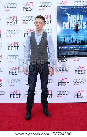 LOS ANGELES - NOV 9:  Dylan Riley Snyder at the AFI FEST