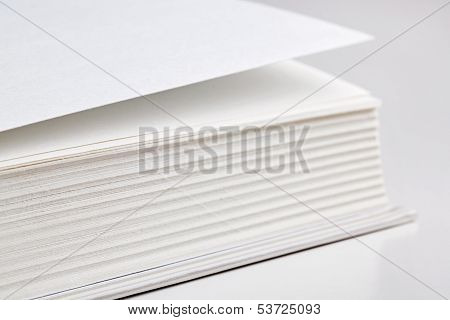 Pages Of A Thick Book