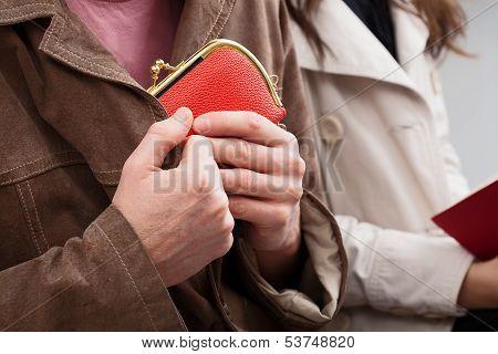 Wallet Hiding