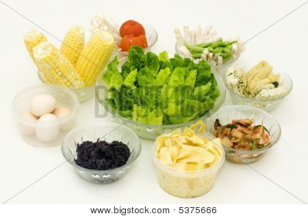 Gesunde Bio-Mahlzeit.