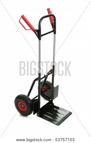 Movers Dolly Cart Isolated On White