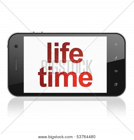 Timeline concept: Life Time on smartphone